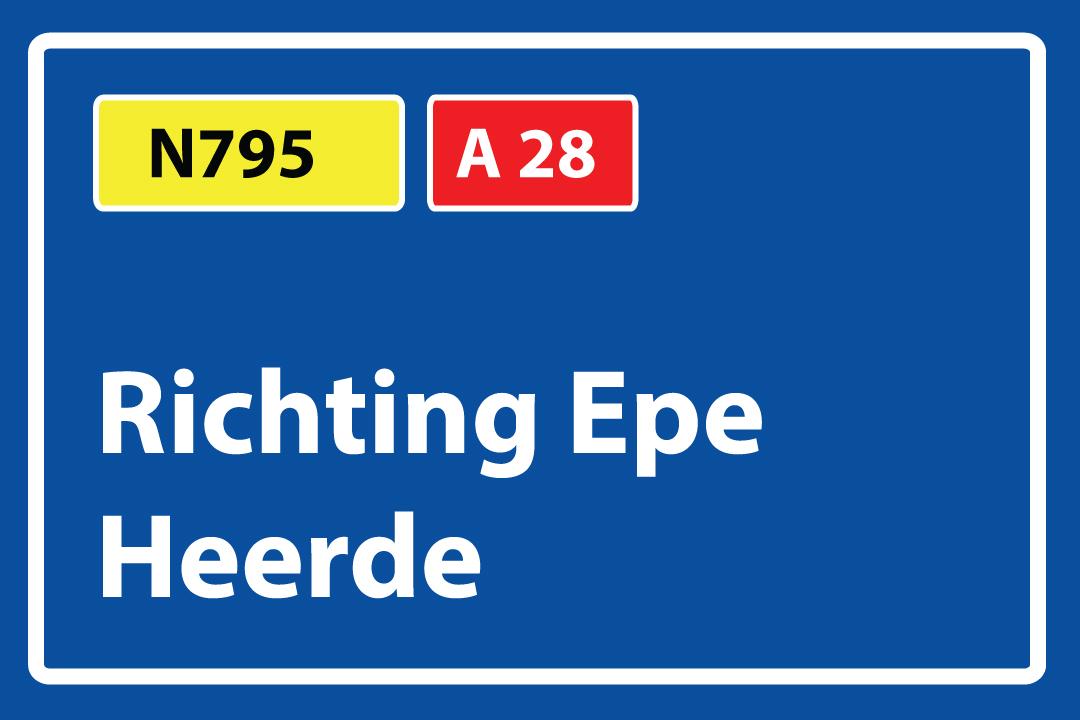 Routebeschrijving-Amersfoort-Harderwijk