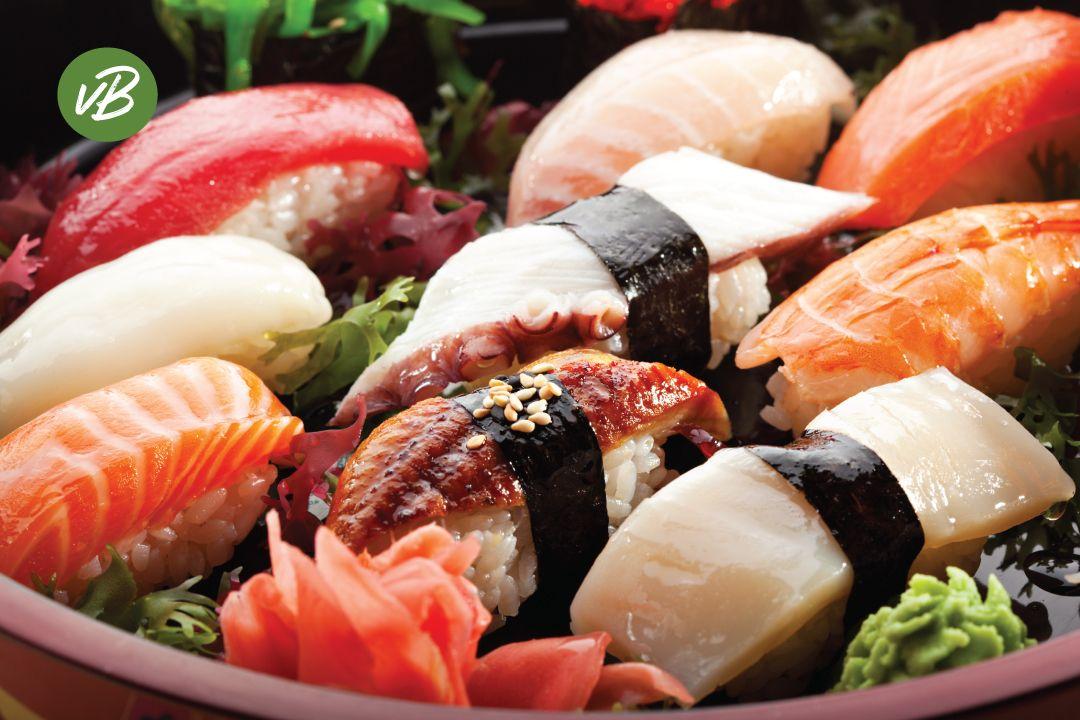Sushi-Assortiment