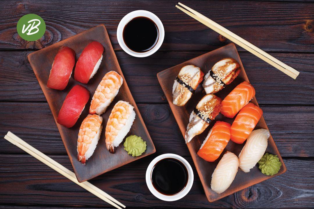 Sushi-Stokjes
